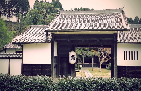 Large Home where Materials of the Yagyu  Family Remain